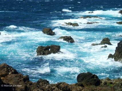 Mar Bordado de ESpuma e Rochas, 2013